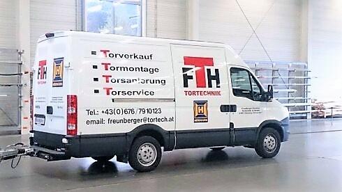 Tortech Service Torverkauf Mondsee Firmenauto 5