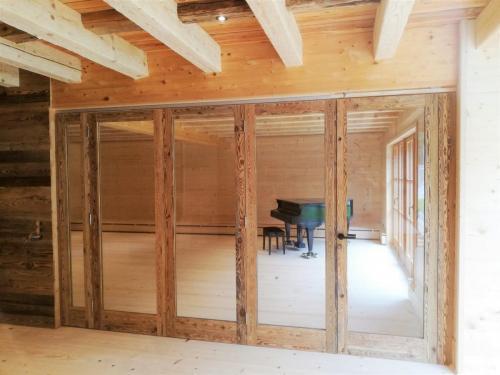 Innentüren Holz massiv mit Glas Tischlerei Lohninger